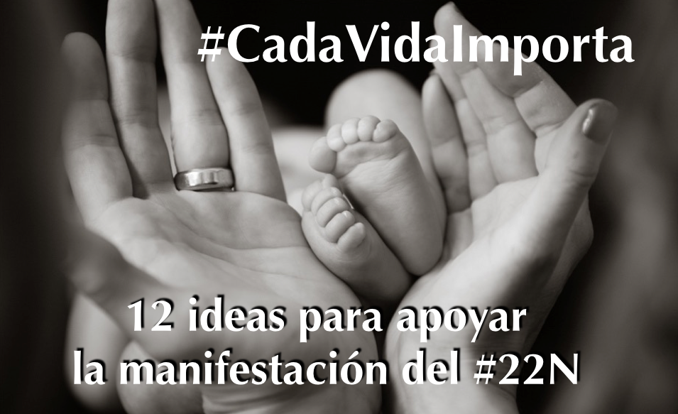 12 ideas #CadaVidaImporta