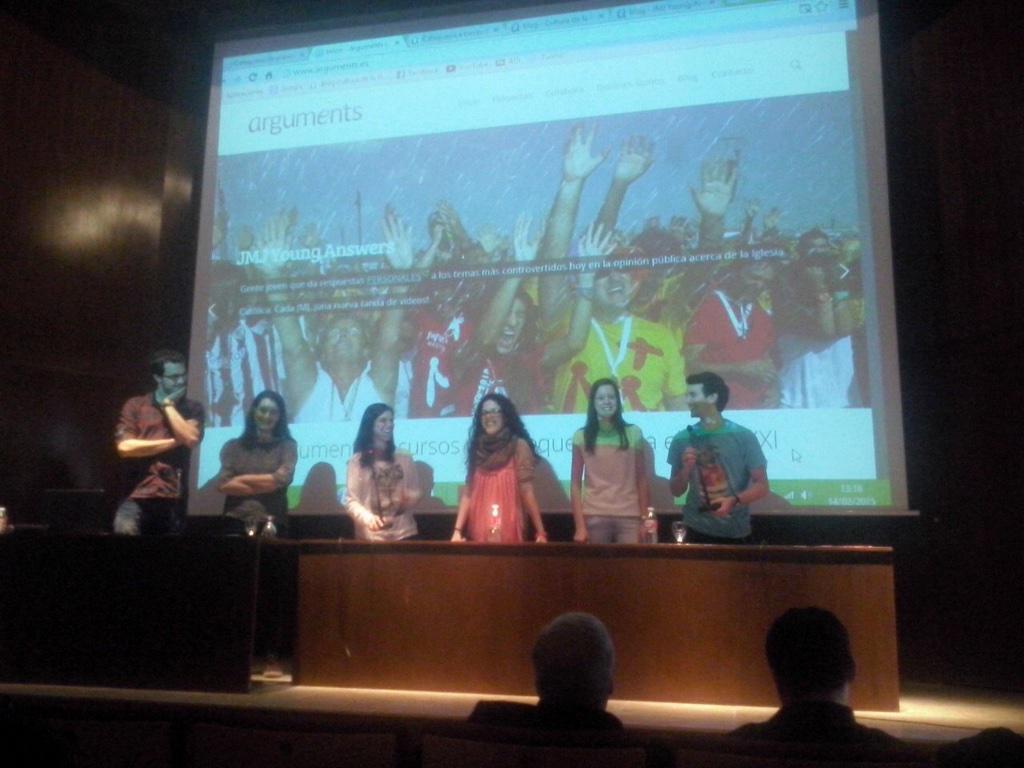 Sesión con catequistas de Alcalá de Henares