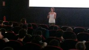 daniela faour presenta cine 300x169 - Meses de actividad intensa