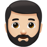 bearded person emoji modifier fitzpatrick type 1 2 1f9d4 1f3fb 1f3fb - Inicio