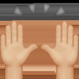 person raising both hands in celebration emoji modifier fitzpatrick type 3 1f64c 1f3fc 1f3fc - Inicio