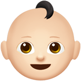 baby emoji modifier fitzpatrick type 1 2 1f476 1f3fb 1f3fb - Inicio