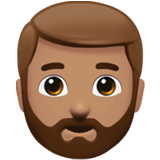 bearded person emoji modifier fitzpatrick type 4 1f9d4 1f3fd 1f3fd - Inicio