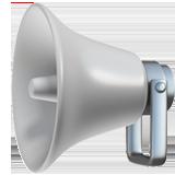 public address loudspeaker 1f4e2 - Inicio