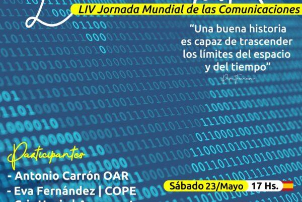 WhatsApp Image 2020 05 21 at 17.22.26 600x403 - Un webinar para festejar la Jornada Mundial de las Comunicaciones Sociales